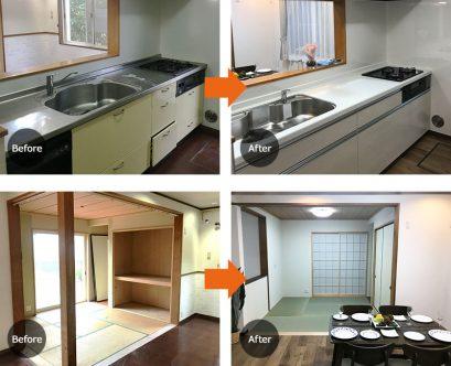 埼玉県川越市谷中キッチン・リビング